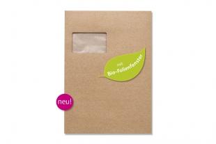 »Design-RC®« 229 x 324 mm DIN C4 braun Briefumschlag (mit Bio-Folienfenster)