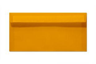 Transparenthülle DIN lang, orange/mango
