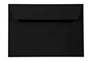 Hülle DIN C5, supermatt, schwarz