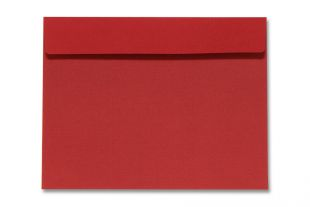 Hülle 200 x 260 mm, rot leicht gerippt