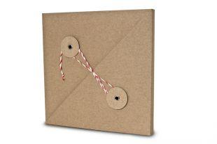 »Design-RC®« Geschenkverpackung QU15 rot-weiß
