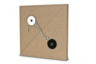 »Design-RC®« Geschenkverpackung QU15 schwarz-weiß