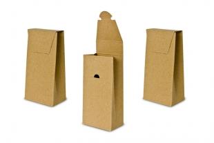 »Design-RC®« Verpackung T11 braun mit Steckverschluss