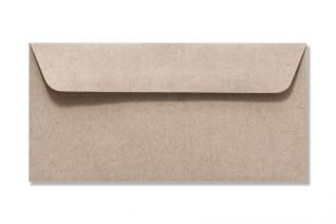»Design-RC®« 114 x 229 mm DIN C6/5 grau/grau (ohne Fenster)