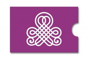 »Edelkuvert®« RFID-Schutzhülle Lila-Symbol