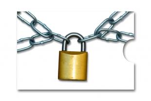 »Edelkuvert®« RFID-Schutzhülle Kettenschloss