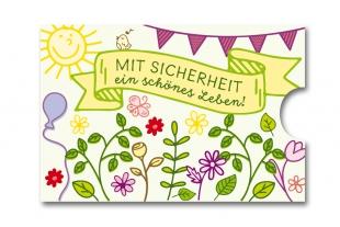 »Edelkuvert®« RFID-Schutzhülle Blumenwiese