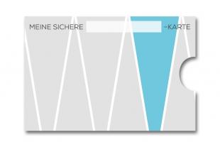 »Edelkuvert®« RFID-Schutzhülle mit Schriftfeld Meine sichere ...