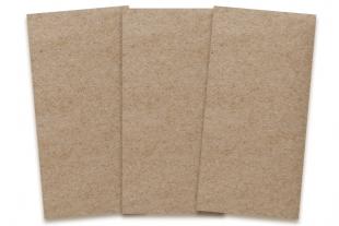 Karten DIN lang Design-RC® braun/braun