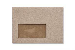 »Design-RC®« 114 x 162 mm DIN C6 grau (mit Fenster)
