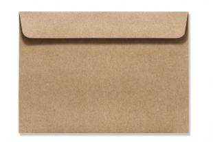 »Design-RC®« 162 x 229 mm DIN C5 braun Briefumschlag (ohne Fenster)