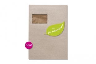»Design-RC®« 229 x 324 mm DIN C4 grau Briefumschlag (mit Bio-Folienfenster)