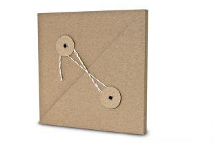 »Design-RC®« Geschenkverpackung QU15 braun-weiß