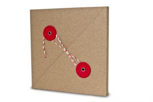 »Design-RC®« Geschenkverpackung QU15 rot-rot