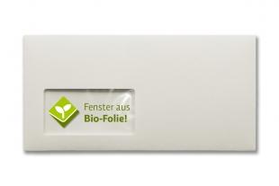 BioCycle Baumwolle 114 x 229 mm DIN C6/5 (mit Fenster)
