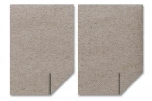 DIN A4 Bogen »Design-RC®« 100g grau/grau
