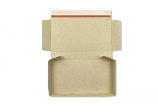 »Graspapier« Postbox 350 x 245 x 46 mm Wellpappe Versandsachachtel